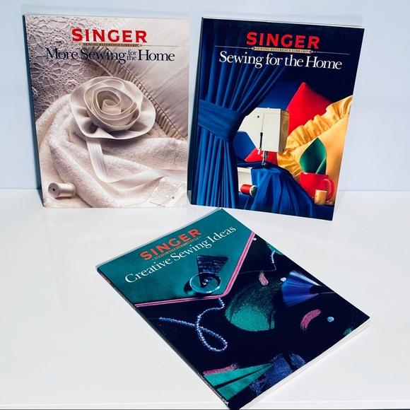 Vintage SINGER Magazines Set Of 3